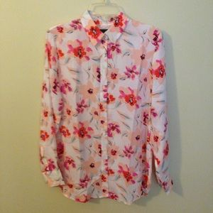 Dillon Classic Fit Floral Shirt